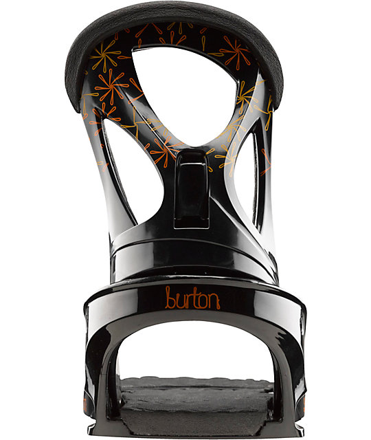 Burton Stiletto Womens Black Snowboard Bindings