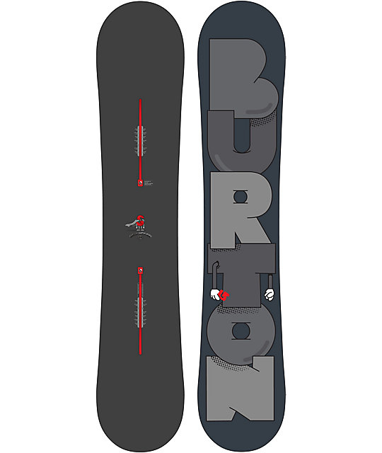 Burton Super Hero 154cm Mid Wide Snowboard