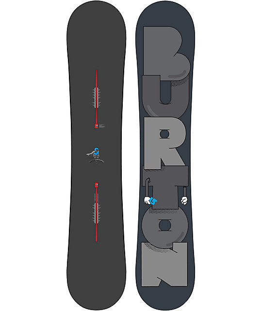 Burton Super Hero 157cm Mid Wide Snowboard