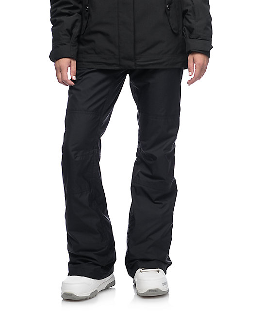 Burton TWC On Fleek Black 10K Snowboard Pants