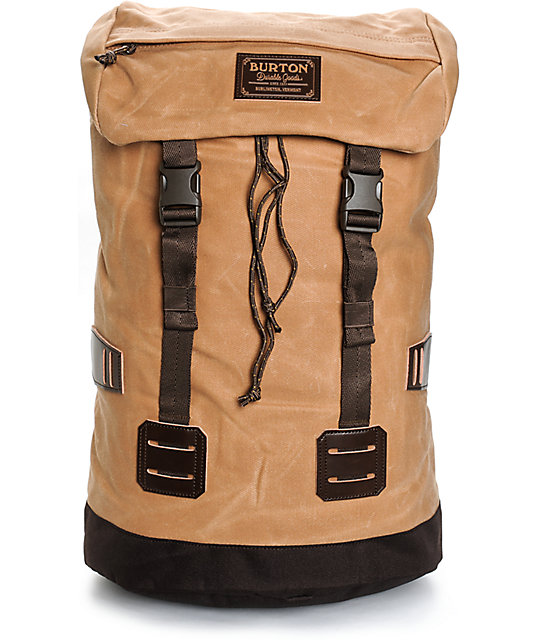 Burton Tinder Waxed Canvas 25L Backpack