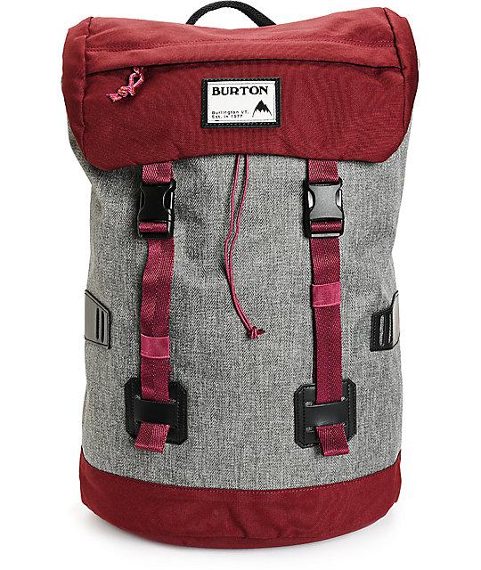 burton tinder zinfandel herringbone backpack. Black Bedroom Furniture Sets. Home Design Ideas