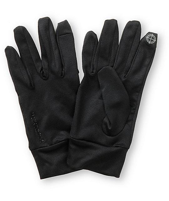 Burton Touchscreen Black Snowboard Glove Liner