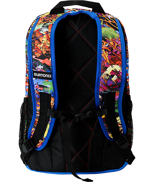 Burton Treble Yell Borna Print Skate Backpack