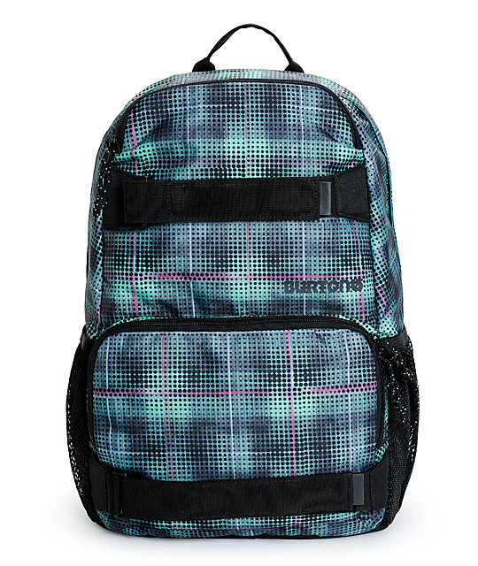Burton Treble Yell Digi Plaid Backpack