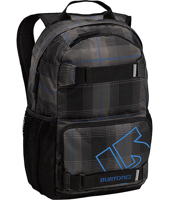 Burton Treble Yell Fixer Plaid Backpack