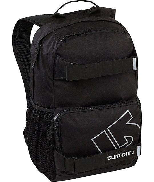 Burton Treble Yell True Black Skate Backpack
