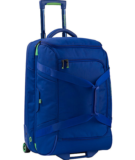 Burton Wheelie Cargo Blue Roller Bag