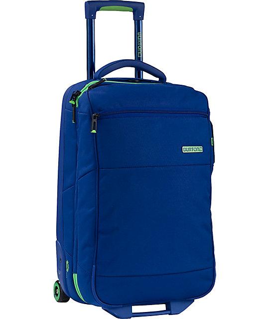 Burton Wheelie Flight Deck Blue Roller Bag