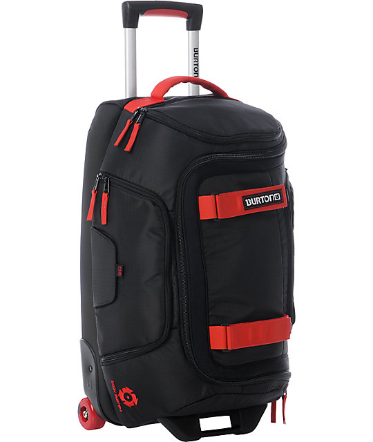 Burton Wheelie Tech Light 21in Black Carry-On Roller Bag