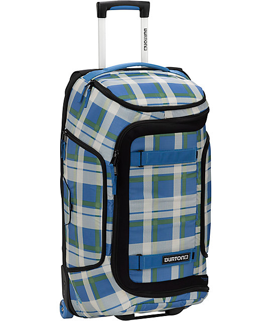 Burton Wheelie Tech Light 28in J.O. Plaid Roller Bag