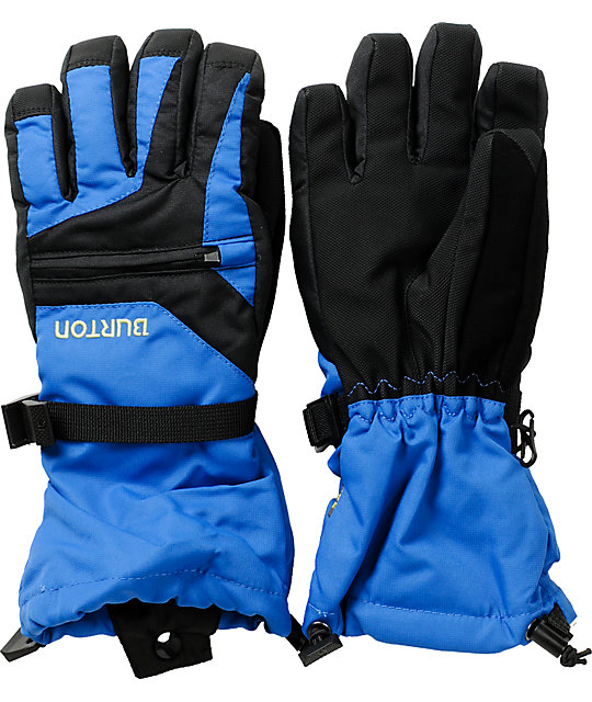 Burton Youth Blue Vent Snowboard Gloves