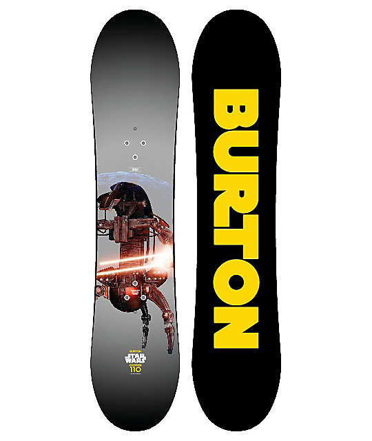 Burton Youth Chopper Star Wars 110cm Snowboard