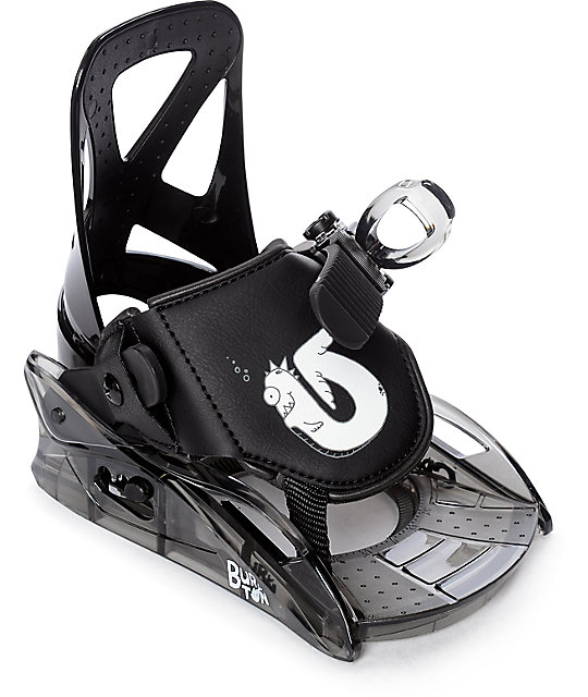 Burton Youth Grom Black Snowboard Bindings