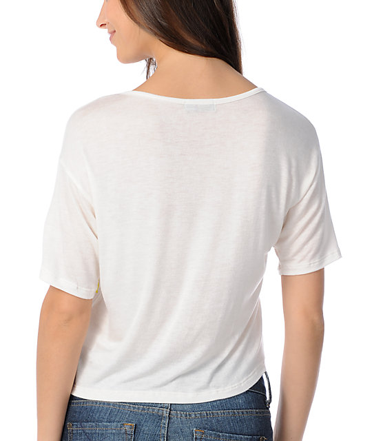 CDC Apparel Soft Native Cream Top