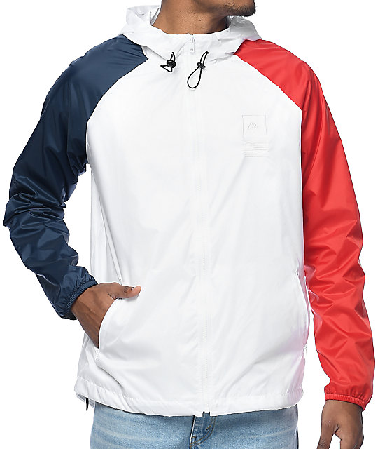 CLSC Ceremony White Windbreaker Jacket at Zumiez : PDP