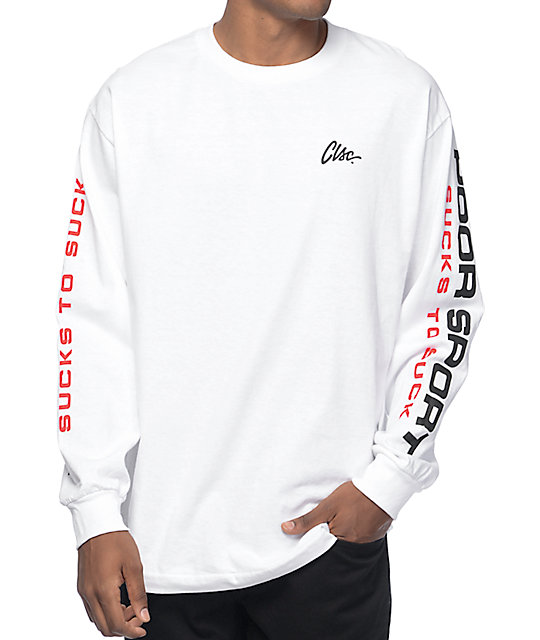 Clsc ps 89 white long sleeve t shirt for What is a long sleeve t shirt