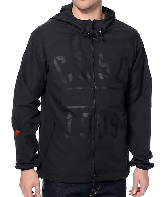 CLSC Physical Black Windbreaker Jacket