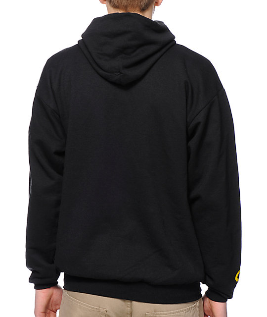 Cake Face OR Sign Black Pullover Hoodie