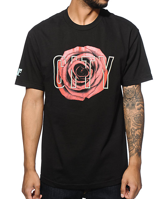 Cake Face PDX Real Rose T-Shirt