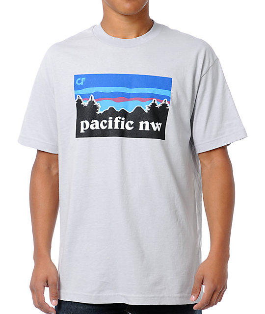 Cake Face Pacific NW Grey T-Shirt