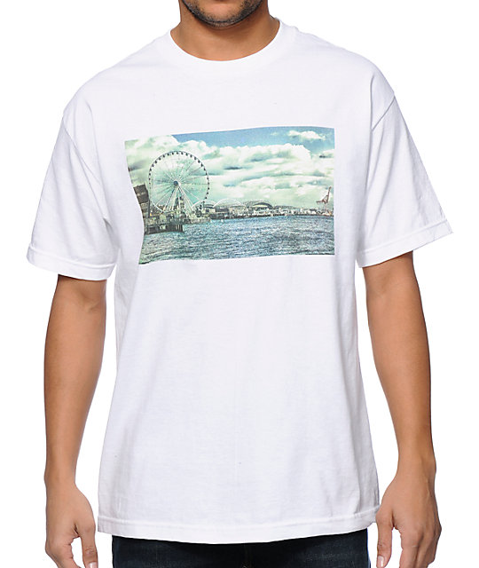 Cake Face WA Dock Life White T-Shirt