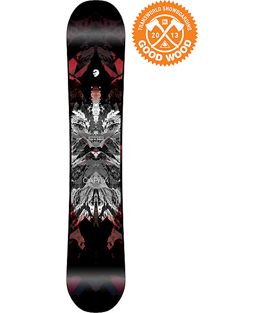 Capita Black Snowboard of Death 162cm Snowboard