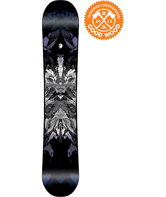 Capita Black Snowboard of Death 165cm Snowboard