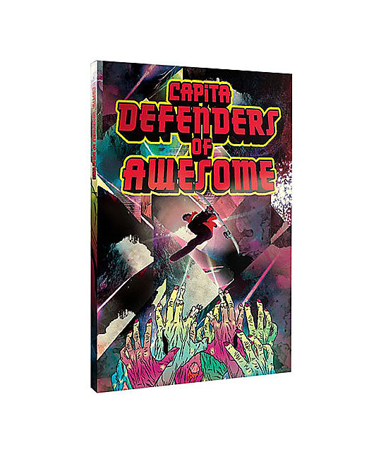 Capita Defenders Of Awesome Snowboard DVD