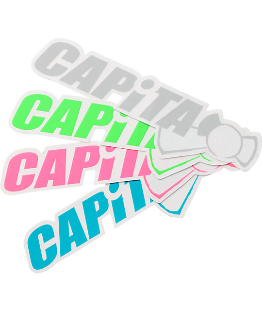 Capita Metaphor Logo Sticker