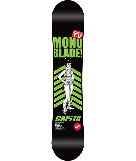 Capita Stairmaster 152cm Wide Snowboard