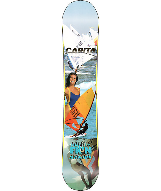 Capita Totally FkN Awesome 153cm Snowboard