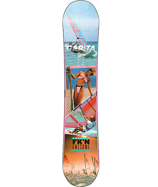 Capita Totally FkN Awesome 155cm Snowboard