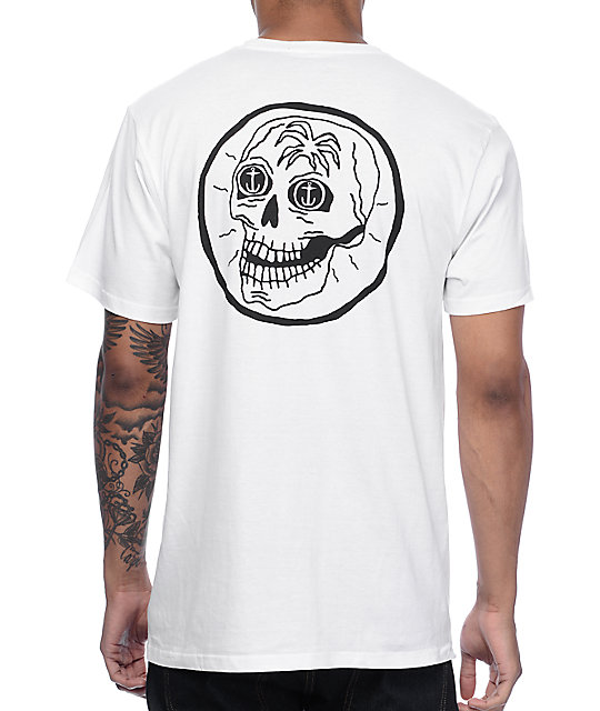 Captain Fin Co Skully White T-Shirt