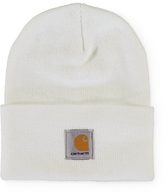 Carhartt Watch White Beanie