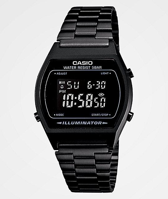 Casio Vintage All Black Digital Watch