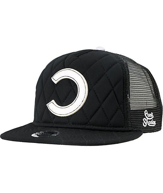 Cast Shadow Chanelle Black Trucker Snapback Hat