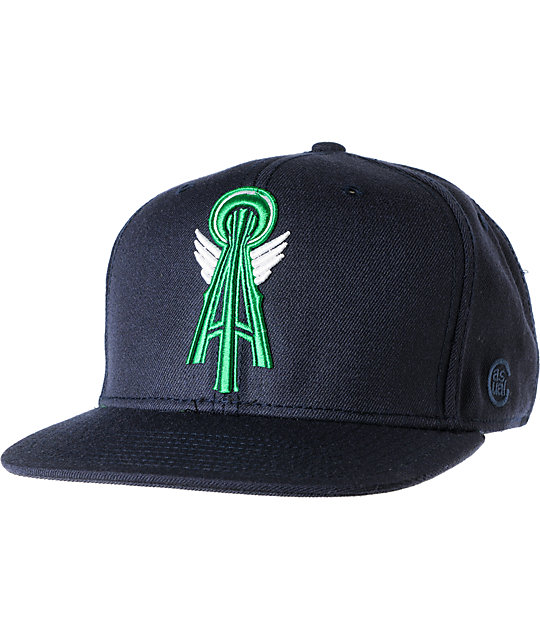 Casual Industrees Alpha Navy Blue Snapback Hat