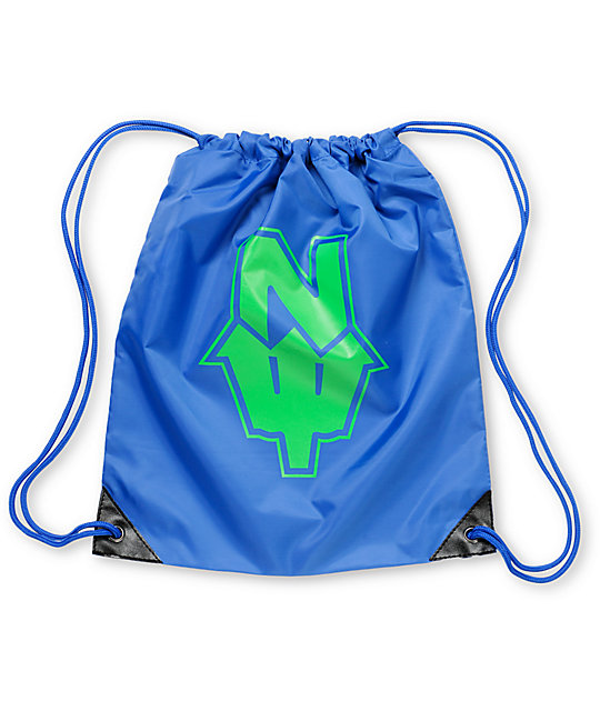 Casual Industrees Blue N Dub Drawstring Bag