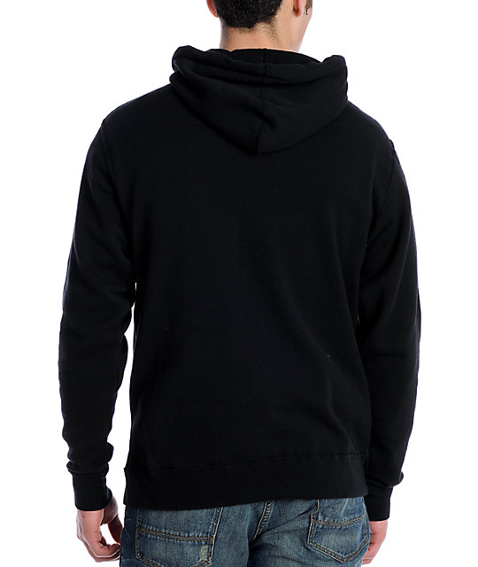 Casual Industrees C-Apple Black Pullover Hoodie