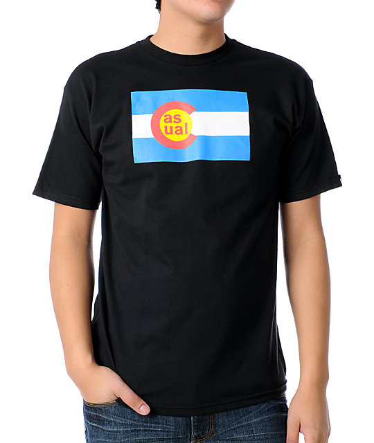 Casual Industrees Colorado Flag T-Shirt