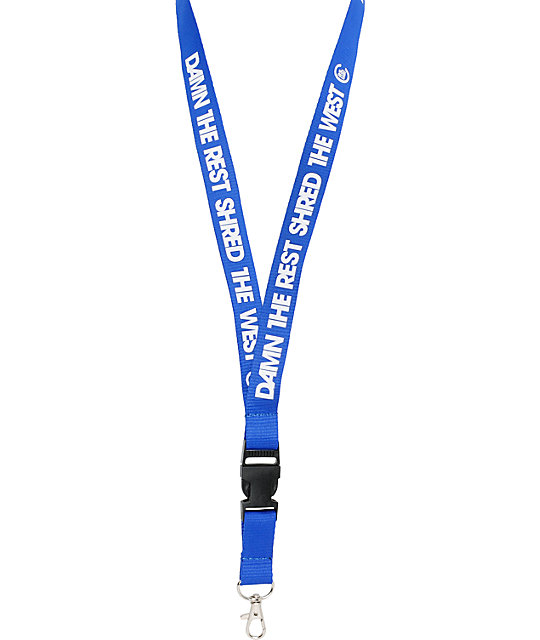 Casual Industrees DTR West Blue Lanyard