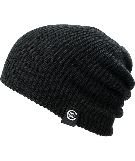 Casual Industrees Day Tripper Black Beanie