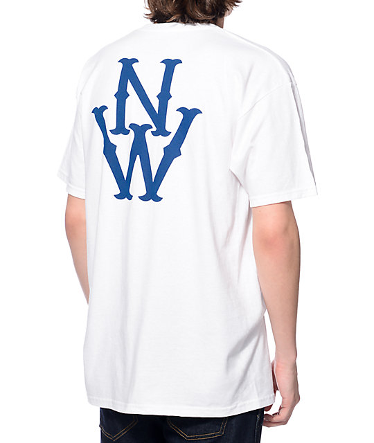 Casual Industrees NW Outfielder White T-Shirt