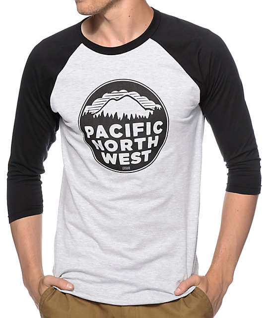 Casual Industrees PNW Baseball T-Shirt