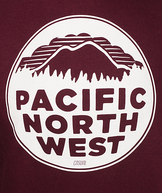 Casual Industrees PNW Blackberry Hoodie