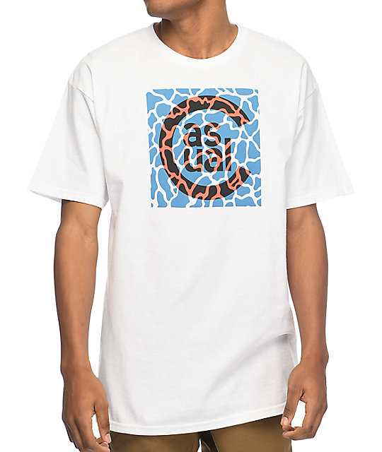 Casual Industrees PNW C Sport Pool White T-Shirt