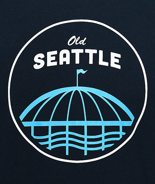 Casual Industrees SEA Old Seattle Navy T-Shirt