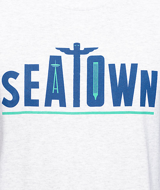 Casual Industrees SEA Seatown Totem Grey T-Shirt