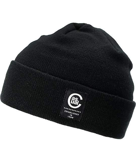Casual Industrees Seadog Black Watchman Beanie